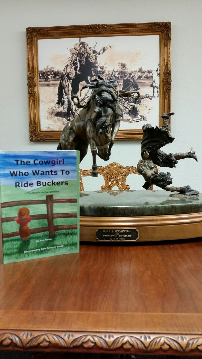 Bonnie McCarroll Book and Sculpture by Ann Ayres